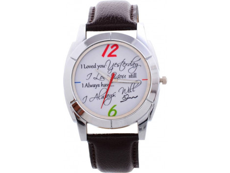 Excel Gpaphic Analog Watch - For Men