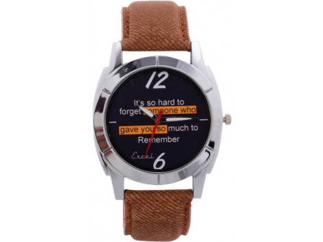 Excel Graphic Analog Watch - For Men