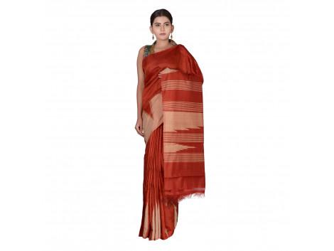 TLC's Trending Stripes Women Kosa Silk Handwoven Saree