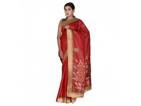 TLC's Pristine Bloom Women Kosa Silk Handwoven Saree