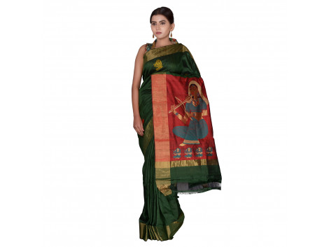 TLC's Tribal Folklore Women Kosa Silk Handwoven Saree