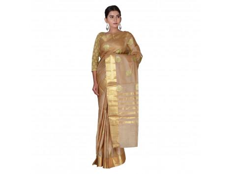 TLC's Festive Ornate Women Kosa Silk Handwoven Saree