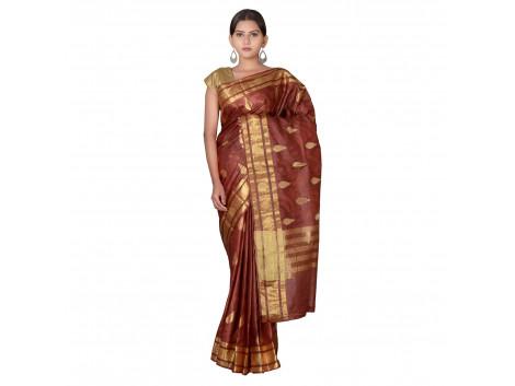 TLC's Traditional Temple Women Kosa Silk Handwoven Saree