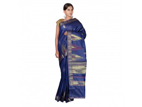 TLC's Temple Tale Women Kosa Silk Handwoven Saree