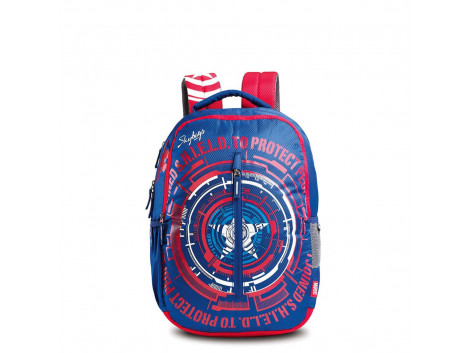SKYBAGS MARVEL CAP. AMERICA 02 BLUE