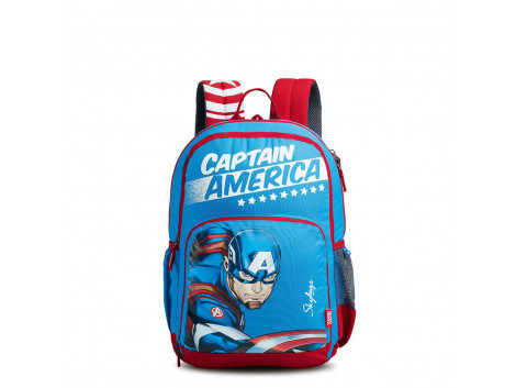 Skybags Marvel Champ Cap. America 01 Blue