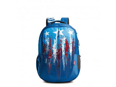 SKYBAGS MARVEL PLUS CAP. AMERICA 02 BLUE