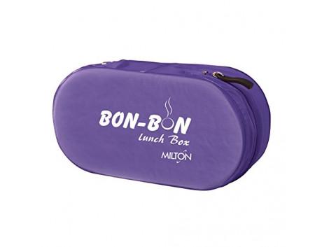 Milton Bon 2 Container Lunch Box, 560 ml, Purple