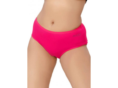 Pusyy Bigydiky Women's Hipster Maroon Panty  (Pack of 1)