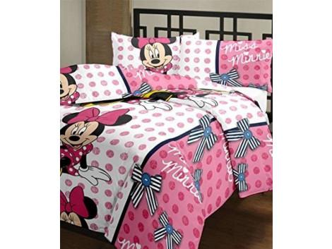 Monil Single Bed AC Blanket/ Dohar Minny Mouse print