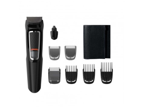 Philips MG3730 8-in -1 Hair Clipper & Face Multi Grooming Trimmer Kit For Men's