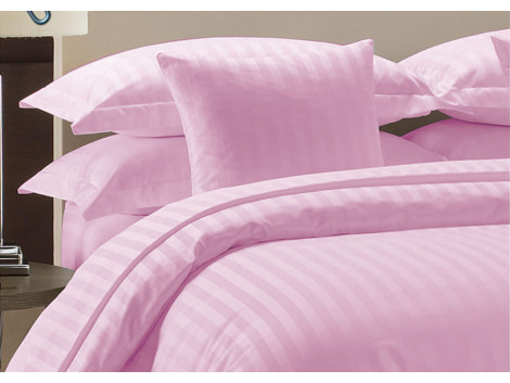 Egyptian Cotton Beddings Bed Sheet With Pillow Covers - Pink