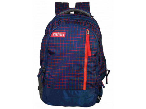 Safari Checkmate 32 Liters Blue Backpack