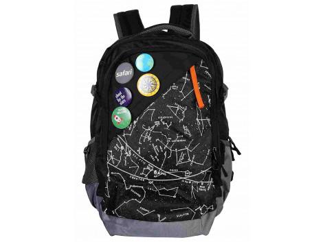 Safari Constellation 44 Liters Black Laptop Backpack