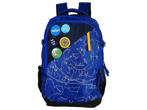 Safari Constellation 35 Liters Blue Laptop Backpack