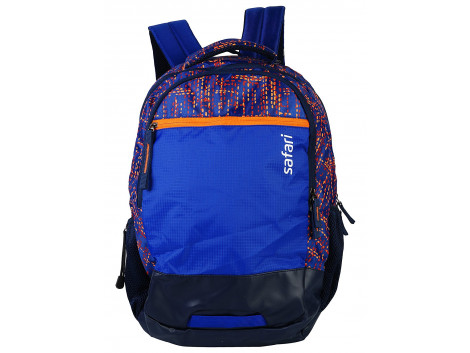 Safari Dotmatrix 35 Liters Blue Laptop Backpack