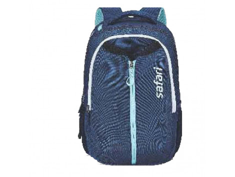 Safari Expand 4 Navy Blue 43L Expandable Front Pocket Laptop Backpack Bags