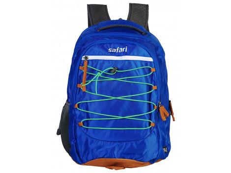 Safari Flipfold 35 Liters Blue Laptop Backpack