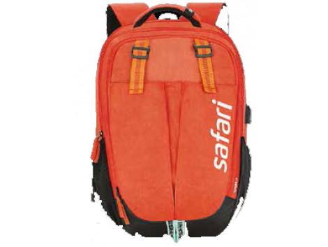 Safari Overalls Orange 37 L Laptop Backpack