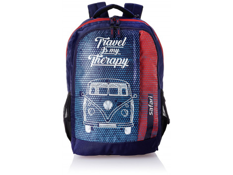 Safari TravelBug Navy Blue 32 Ltrs Backpack
