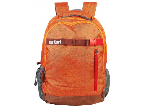 Safari Twill 35 Liters Orange Laptop Backpack