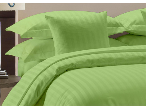 Egyptian Cotton Beddings Bed Sheet With Pillow Covers - sage gree
