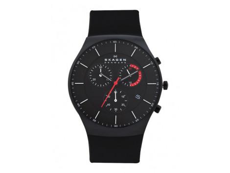 SKAGEN SKW6075 Men Black Dial Chronograph Watch
