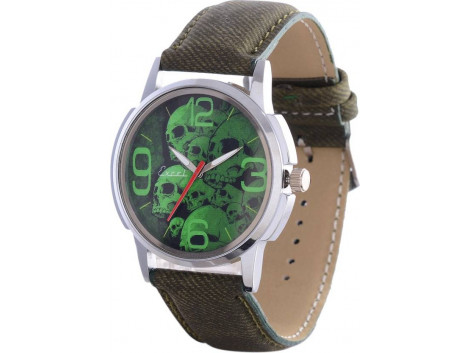 Excel Skulls Analog Watch - For Men