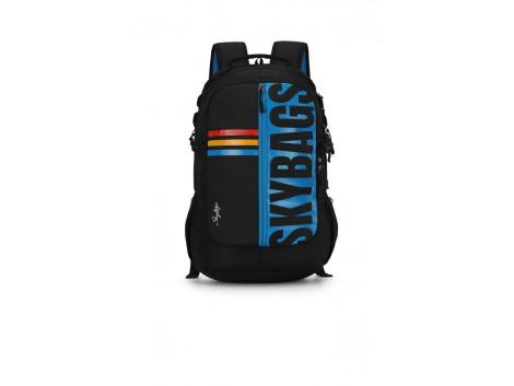 Skybags Herios Plus 04 30 L Black Backpack