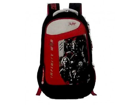 Skybags Marvel Extra 03 Black Backpack