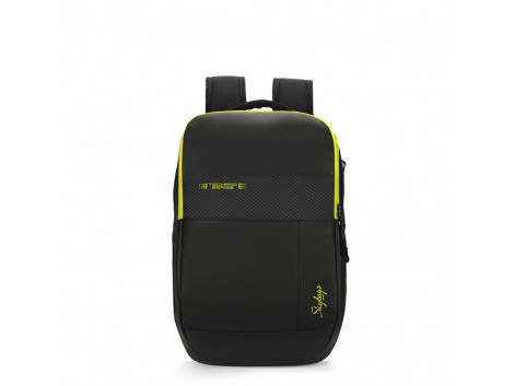 SKYBAGS ZYLUS 01 BLACK LAPTOP BACKPACK