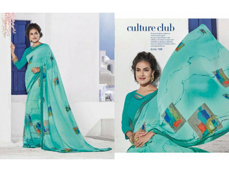 Fabulous Sonika Culture Club Saree