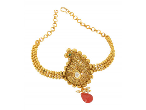 Spe Indian Ethnics Golden Copper Bajuband for Women (A-14)