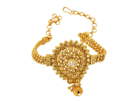 Spe Indian Ethnics Golden Copper Bajuband for Women (A-15)