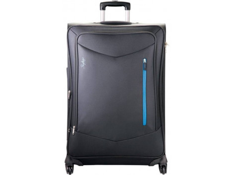 Skybags Murphy 4w exp strolly 68 dbl Check-in Luggage - 31 inch  (Blue)