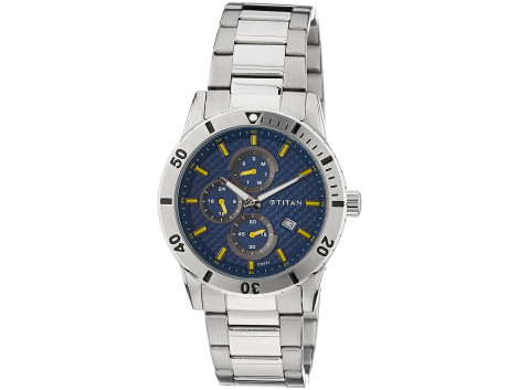 Titan 1621SM03J Men Watch
