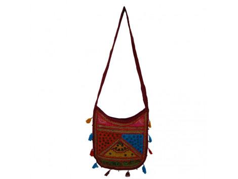 The Living Craft Mix Patchwork U-Shaped Women's SLINGBAG Multicolor TLCBG0304