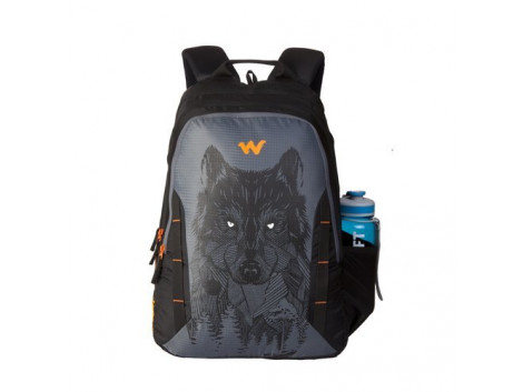 Wildcraft Wolf 06 Black 44 Ltrs Backpack