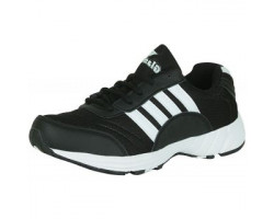 Glamour Black Sports Shoes (ART-7510)