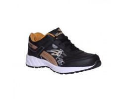 Glamour White Black Sports Shoes (ART-1026)