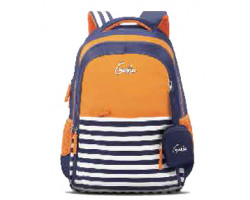 GENIE NAUTICAL PLUS ORANGE 17 SCHOOL BAGS FOR GIRLS