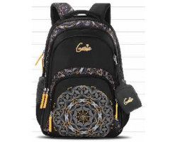 Genie Silk Black 36L Backpack For Girls