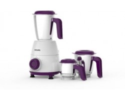 Philips Daily Collection HL7505/00 White 500-Watt Mixer Grinder with 3 Jars