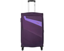 Safari Korrekt 22 Purple Expandable Cabin Luggage - 55 cm