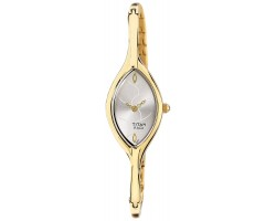 Titan NE9701YM01J Analog White Dial Women Watch