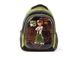 Creation C-Ben10 School Bags 32 L - GrnBlk