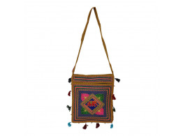 The Living Craft ETHNIC EMBROIDERED WOMEN's SLING BAG Multicolor TLCBG0238