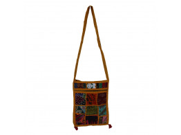 The Living Craft MIX PATCHWORK WOMEN's SLING BAG Multicolor TLCBG0230