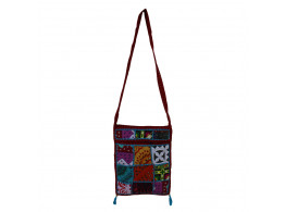 The Living Craft MIX PATCHWORK WOMEN's SLING BAG Multicolor TLCBG0231