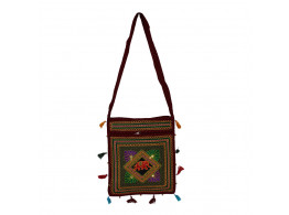 The Living Craft ETHNIC EMBROIDERED WOMEN's SLING BAG Multicolor TLCBG0237